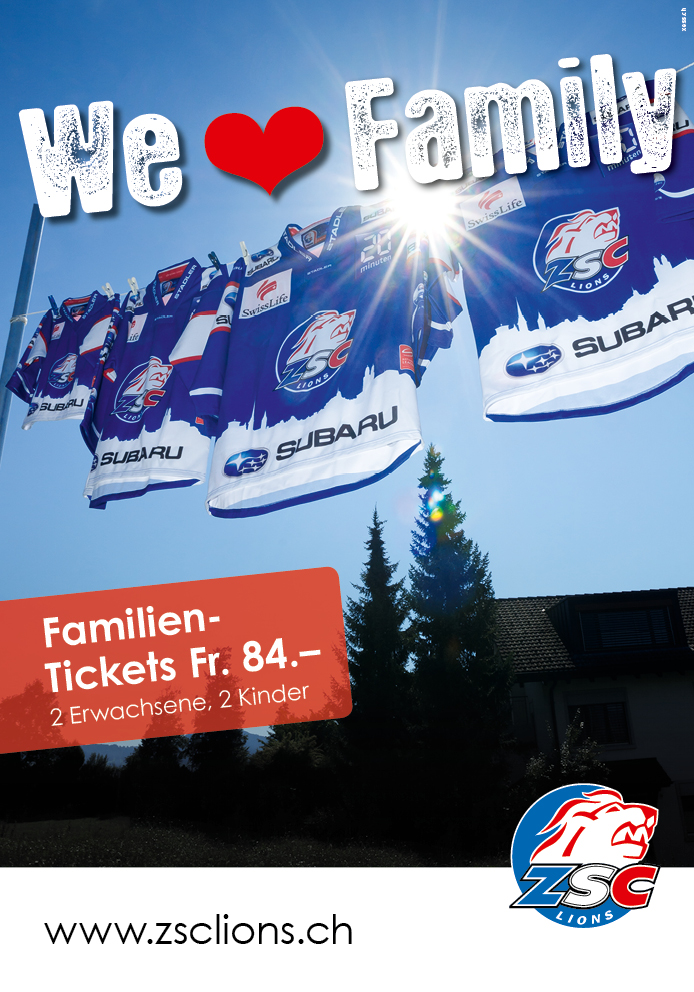 ZSC Lions FamilyTicket F200