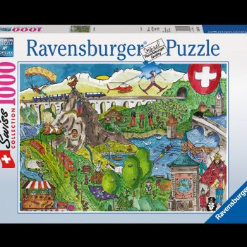 Packung Puzzle Wimmelbild
