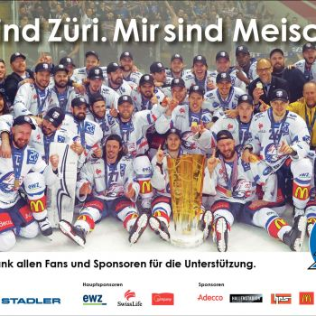 Inserat ZSC Lions