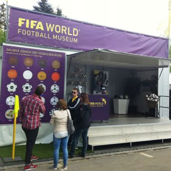 Messestand Fifa Museum
