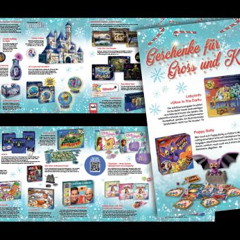 Flyer Ravensburger Xmas